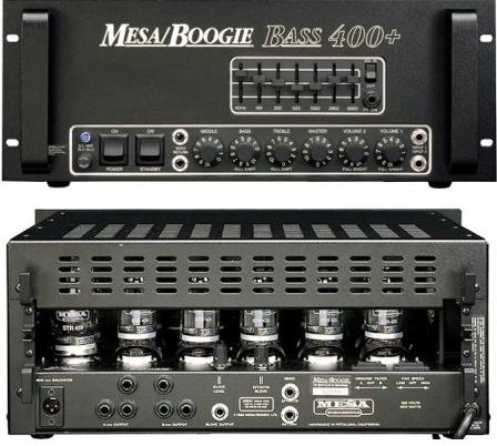 Бас-гитарный усилитель Mesa Boogie Bass 400+